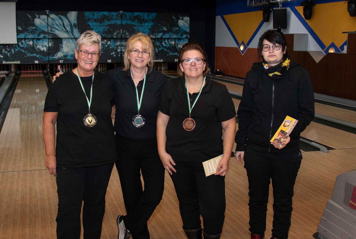 Finalisten Klasse Sport Damen